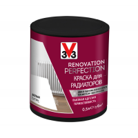 Краска для радиаторов Renovation Perfection V33 0.5 литра СЛОНОВАЯ КОСТЬ